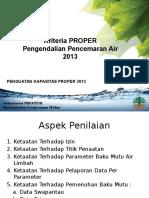 2. Kriteria Air 2013