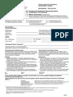Esop Application Form 2016