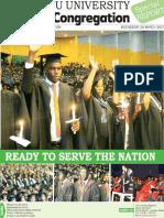 Mzuni Graduation Pullout