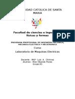 Maquinas Electricas Informe 1
