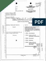Benjamin Siounit v Palos Verdes Estates Antisemitism Complaint 01-28-2013
