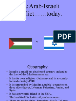 Arab-Israeli Conflict Today 2