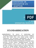 Presentation on Standardization V