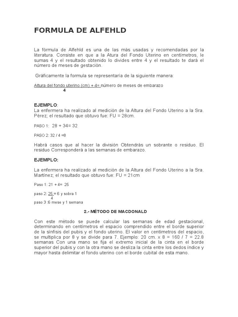 formulas para calcular edad gestacional pdf