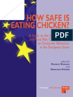 Donato Romano, Gianluca Stefani-How Safe is Eating Chicken__ a Study on the Impact of Trust and Food Risk Communication on Consumer Behaviour in the European Union -Firenze University Press (2006)