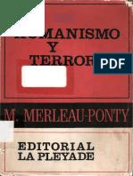 Merleau-Ponty, M. - Humanismo y terror.pdf
