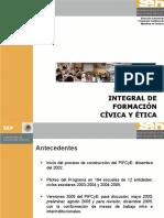 Programa integral de formación civica y ética