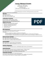 completer portfolio resume