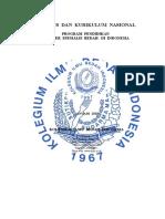 Silabus Dan Kurikulum PPDS Bedah KIBI 2015