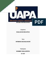 TAREA 3 Evaluacion Educativa