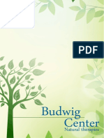 Johanna Budwig Healthy Diet Guide for cancer, tumor and other deseases