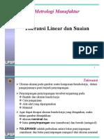Kuliah Metrologi Manufaktur 04