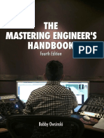 The Mastering Engineers Hand book 4th Edition.pdf
