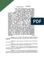 San Antonio Water System 2005 Underwriting Pool Resolution