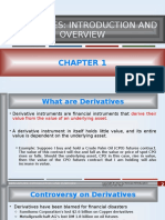 Chapter 1 DERIVATIVES INTRODUCTION AND OVERVIEW