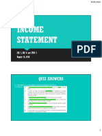 PPT2 - Income Statement