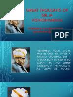 Sir m Visveswaraya Quotes