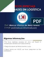 Atualidades Em Logistica Topicos Especiais UCB Resumido ALUNOS