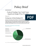 Federal Funding Brief