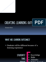 learning outcomes ra
