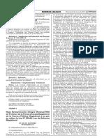 D.S. N° 070-2017-EF Fijan RIM para Primera Escala