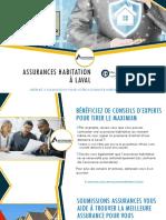 Assurance maison ou condo à Laval