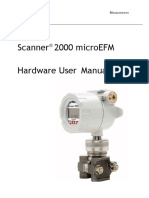 Cameron Scanner 2000 Hardware User Manual