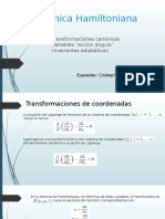 Dinámica Hamiltoniana