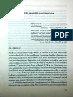 MADRAZO, Santos. Un Peculado en El Ministerio de Hacienda & La Eterna Cuestíon de La Hacienda