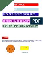 Área de Regiones Circulares