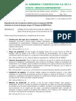 Instalación Eléctrica Para Áreas Clase I, División 2