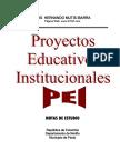 Proyectos Educativos Institucionales PEI