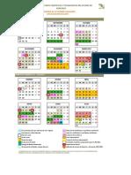 Calendario de Actividades Escolares CECyTEV 2016-2017