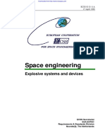 ECSS-E-33-11A - Explosive Systems and Devices