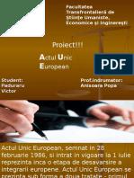 Actul Unic European