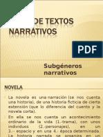 TIPOS DE TEXTOS NARRATIVOS.ppt