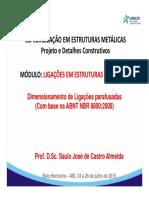 Módulo v - Ligações Em Estruturas Metálicas - Parte I_a