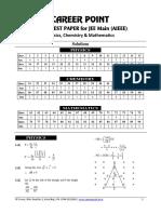 Sol. Mock Test-PCM