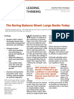 The Boring Balance Sheet