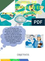 Funciones de Enfermeria en El Transoperatorio