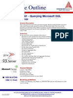 20461 Querying Microsoft SQL Server 2014