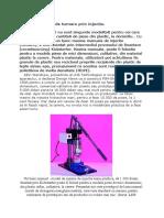 Masina Manuala de Turnare Prin Injectie.
