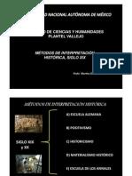 CORRIENTES HISTORIOGRÁFICAS