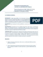 Programa Interamericano sobre Acceso a la Información Pública