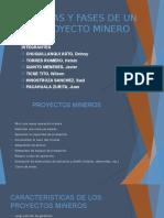 Etapas y Fases de Un Proyecto Minero