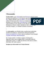 Física de Ultrasonido - Junio 2010