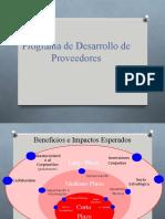 Desarrollo de Proveedores-Programa