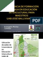 e Muñoz-experiencia de Formación Continua en Educación Intercultural