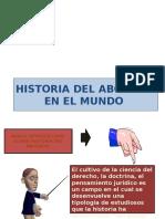 Historia Del Abogado en El Mundo Falta