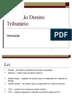 Aula 3 - Leg Tribut - Fontes Do d. Tributário.pptx Versao 2